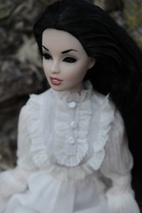 And now I look (Vuffy VonHoof) Tags: girls horse brown white black tree green halloween girl umbrella toy toys log strawberry doll dolls jill south mother barbie mama southern story parasol stump susie dynamite suki sooki pruning switchblade integrity