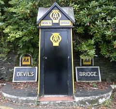 "AA Box, Devil's Bridge , Ceredigion, Mid Wales • <a style=""font-size:0.8em;"" href=""http://www.flickr.com/photos/9840291@N03/13902714965/"" target=""_blank"">View on Flickr</a>"