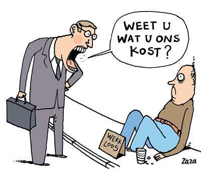 Werklozen in België