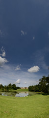 6377_84_Panorama1 (Simon Caunt) Tags: sky panorama clouds outdoors nikon skies widescreen panoramic blueskies stowe nationaltrust largeformat thegreatoutdoors d800 mrbluesky widefield 2470mmf28 stoweschool wideblueyonder nikond800
