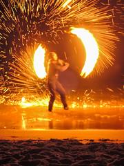 fireshow beach Koh Lanta, Thailand - Feuershow