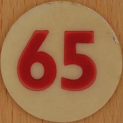 Bingo Number 65 (Leo Reynolds) Tags: xleol30x squaredcircle number numberbingo xsquarex bingo lotto loto houseyhousey housey housie housiehousie numberset 65 sqset120 60s canon eos 40d xx2015xx xxtensxx sqset