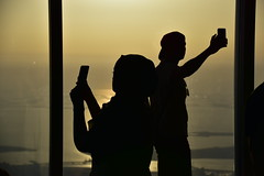 Selfie at Burj Khalifa (marciofleury) Tags: sunset pordosol sun sol selfie burjkhalifa