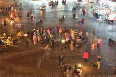 Performers in action (T Ξ Ξ J Ξ) Tags: morocco marrakesh djemaaelfna d750 nikkor teeje nikon2470mmf28 performers street store night