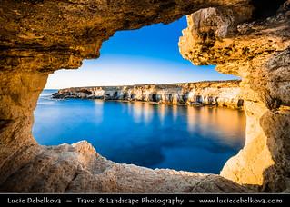 Cyprus - Ayia Napa - Cape Greco Natural Park - Unique Sea Cave