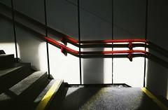 U-bahn snapshot #11 (desomnis) Tags: street streetphotography vienna wien urban light shadows red yellow architecture ubahn desomnis ricoh ricohgr austria österreich