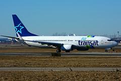 F-GZHI (Air Transat - Transavia) (Steelhead 2010) Tags: airtransat transavia boeing b737 b737800 yyz freg fgzhi