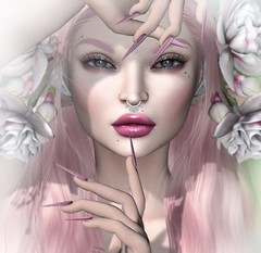 Face to Face, Eye to Eye (Alisa Perne) Tags: alisa26 alisaperne sl secondlife avatar lelutka bento slink dynamic hands astralia nails pink applier glamaffair
