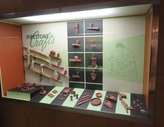Pipestone Crafts Marker (Pipestone National Monument, Minnesota) (courthouselover) Tags: minnesota mn pipestonecounty pipestonenationalmonument nationalmonuments nationalparksystem northamerica unitedstates us