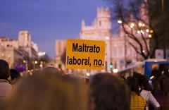 (Ands.photos) Tags: manifestacion madrid feminismo feminista mujeres igualdad 8marzo dia internacional de la mujer gran via plaza españa justicia rojo multitud gente cibeles