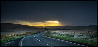 Winter Sunset - Axe Edge Moor. 2