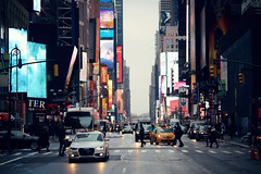 Time Square ([~Bryan~]) Tags: timesquare city urbanlandscape nyc manhattan newyork street road traffic newyorkcity us town