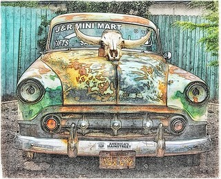 The Ole Car, with Skull