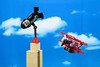 King Kong climbed the Empire State Building, with a plunger (Lesgo LEGO Foto!) Tags: lego minifig minifigs minifigure minifigures collectible collectable legophotography omg toy toys legography fun love cute coolminifig collectibleminifigures collectableminifigure kingkong king kong gorilla gorillasuitguy suit guy plane biplane