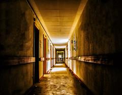 Just keep going down the hall (Siebeats) Tags: hall day light lost places nikon nikond5300 heidelberg verlassen germany deutschland d5300 creepy photographer photography
