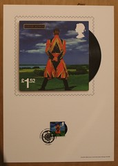 David Bowie - Earthling - Royal Mail Album Picture (Darren...) Tags: