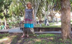 Temple Grounds (justplainrachel) Tags: justplainrachel nantien temple wollongong crossdresser cd transvestite tgirl selfie selfportrait silk satin hippy skirt