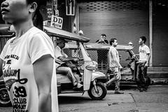 Another Day | Bangkok 2016 (Johnragai-Moment Catcher) Tags: people photography bangkokstreet blackwhite blackandwhite momentcatcher monocrome johnragai johnragaiphotos johnragaistreet johnragaibw olympusm17mmf18