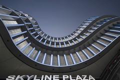 Skyline PLaza (pwendeler) Tags: skylineplaza frankfurt building gebäude architektur architecture shoppingcenter einkaufszentrum sony germany tradefair rund round fassade facade