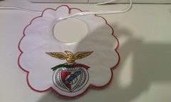 Benfica (leonilde_bernardes) Tags: benfica bordados enxoval logos emblemas babete