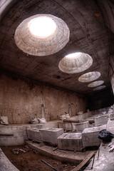 Natural Light (FX-1988) Tags: assuta tower tel aviv israel urban urbex architecture fisheye wide angle underground light fish eye nikon d7100 105 105mm hole pool