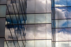 Santa Ana - Sky Reflected (www.karltonhuberphotography.com) Tags: 2017 abstract citystreets cityscape clouds exterior glass karltonhuber lines officebuilding officetower orangecountycalifornia outdoors patterns reflections santaana shapes sky southerncalifornia streetphotography streetscene theoc weather windows