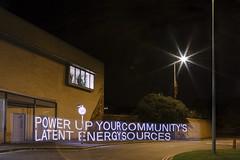 Low Carbon Hub — Lightpainting Energy — power up_OX1 (fieldworkfacility) Tags: fieldworkfacility installation intervention lightpainting lowcarbonhub robinhowie typographic urban