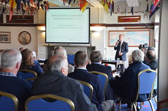 CHC Annual Public Meeting at the Island Sailing Club, Cowes (cowescouk) Tags: public club island sailing harbour report meeting annual commission cowes