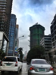 ADB Avenue (Xtian Bederico) Tags: street urban tower skyline corporate drive construction asia metro philippines center manila lancaster shaw adb ortigas bdo mandaluyong citiland