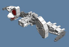 Itano_wip3 (Cagerrin) Tags: lego system missilepods