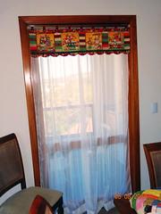 Cortina Sala de Jantar (Bia e Deise - Quilting Beagles) Tags: cortina de sala patchwork jantar bandô