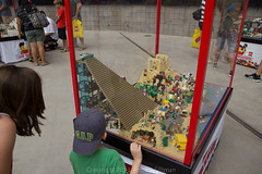Lego KidsFest - Egyptian Pyramid diorama (rob-the-org) Tags: iso100 lego pyramid noflash egyptian uncropped 250 dioramas westgate f40 18mm kidsfest glendaleaz 150sec universityofphoenixstadium