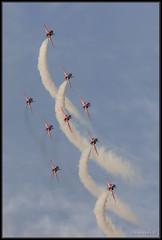 Cowes Week 2013 (leightonian) Tags: uk island unitedkingdom aircraft isleofwight solent gb isle cowes redarrows raf wight cowesweek iow