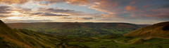 Edale Valley (Chris Beesley) Tags: sunset summer colour landscape evening nationalpark peakdistrict lush edalevalley mamtor pentax1645faedal pentaxk5