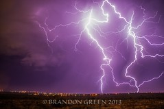 stackedImage2 (brandongreenphotography) Tags: sky weather night clouds electricity lightning storms stormchasing