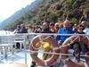 Paseo en catamarán por el cañon del río Sil