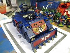 Space Marine Razorback No.1 (AKASteveUK) Tags: 40k warhammer razorback gamesworkshop spacemarine forgeworld unitymarines