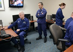 Coast Guard Sector Anchorage conducts disaster preparedness drill (Coast Guard News) Tags: coastguard training unitedstates exercise ak anchorage coop sectoranchorage