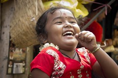 Big smile :-) (Naveen Gowtham) Tags: street portrait people india colors smile childhood kids canon photography child streetphotography streetlife shy childrens chennai childs tamilnadu cwc childlife naveen parrys canon600d chennaiweekendclickers naveengowtham cwcwalk297