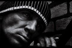 Black & white moments (chromik) Tags: portrait man men face nikon mann photoart mnner visage gesichter chromik dchro dietmarchromik bwswblackwhitebwphotography