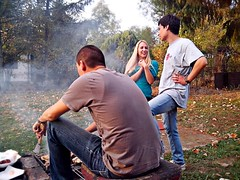 Rotilj (ntrifunovic) Tags: smoke meat barbeque jelena avala jelen rotilj nemanja 2013 vikendica rostilj