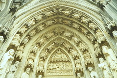 Westportal (thausj) Tags: church germany deutschland dom kirche cologne köln ornaments nrw nordrheinwestfalen rheinland kölnerdom colognecathedral ornamente