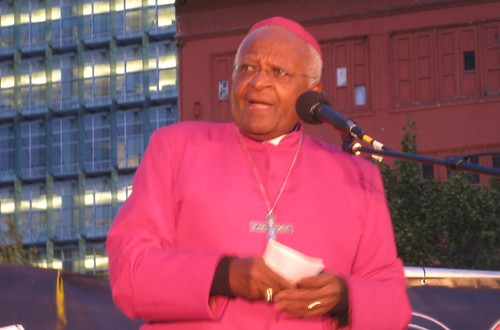 Rev. Desmond Tutu in San Francisco