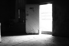 IMG_4410 (N.sanford) Tags: door wood old light urban brick abandoned bar concrete flooding texas shadows floor sink bright zoom richmond tokina textures urbanexploration 1800 oldbuilding urbex balchwhite
