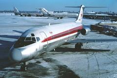 N1065T TWA DC-9-15 in KCLE (GeorgeM757) Tags: twa transworld dc915 n1065t kcle clevelandhopkins cle aircraft airport airplane alltypesoftransport aviation georgem757sphotostream mcdonnelldouglas dc9 midway