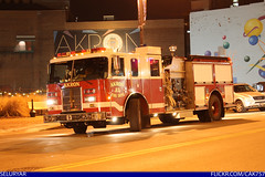 AFD Pierce Engine 3 (Seluryar) Tags: ohio house chevrolet truck fire safety firetruck mount pierce ladder department mid gmc akron sutphen afd midmount