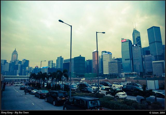 中環碼頭景觀
