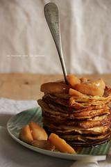 pancakes060 (la cerise sur le gteau) Tags: food cooking apple pancakes breakfast dessert photography baking tasty delicious patisserie pastry brunch jam mapple crpes chandeleur delish vision:food=072