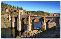 Ponte romana de Alcntara (vmribeiro.net) Tags: bridge spain espanha roman ponte romana alcantara