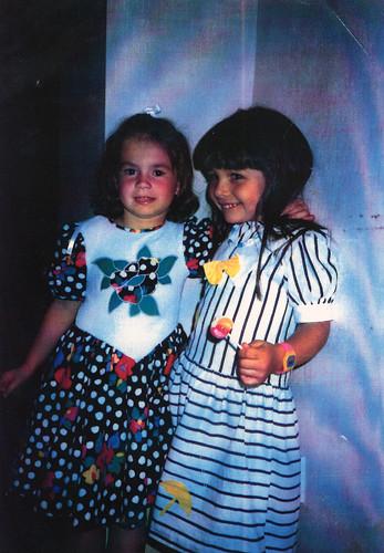 Gabriella and Gemma 1990s